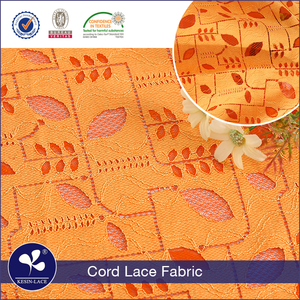 Low price high quality cheap cord indian thailand lace fabrics