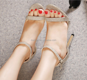 2016 fashion stiletto women thin high-heeled sandals sexy women shoes lady sandals
