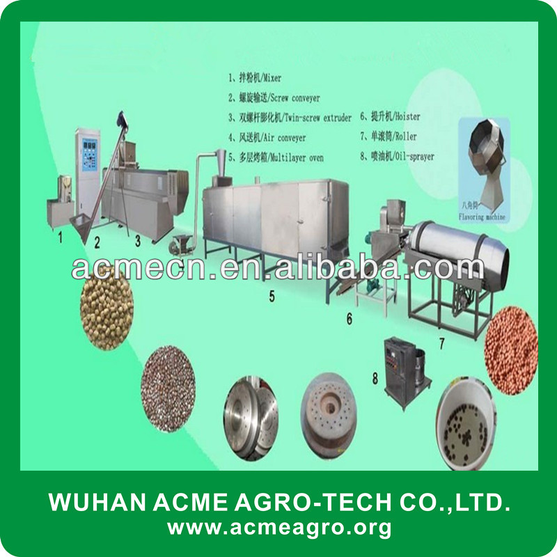 Pet/Fish Feed Machine,Fish Feed Production Line