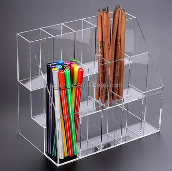 Acrylic Stationery Shop Display Rack