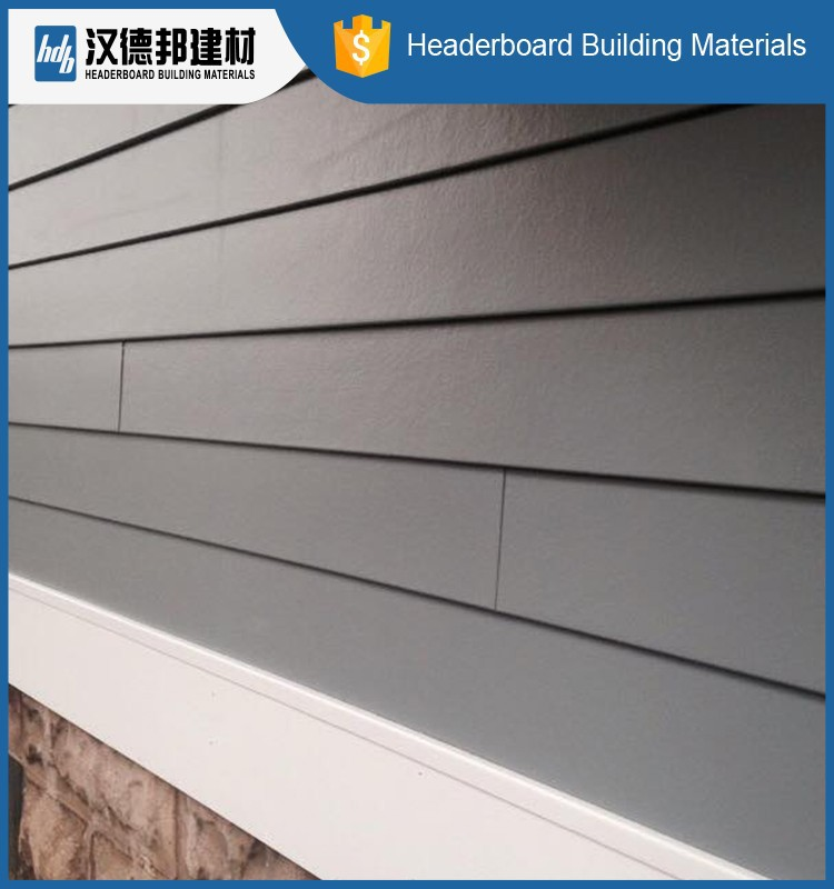 Factory Popular Originality Fibre Cement Cladding Be Used
