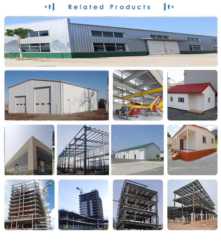 Prefabricated construction steel structure used low cost industrial factory shed designs