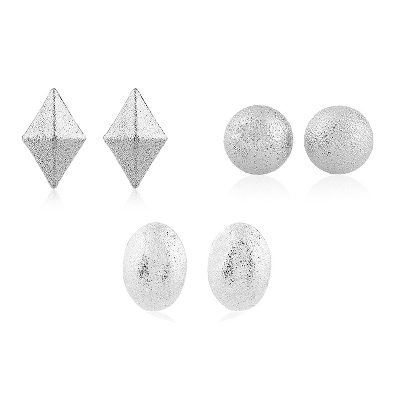 Fashion simple druzy stud earrings fashion jewelry women shop china electronics online