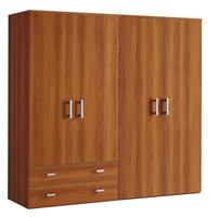 China supplier cheap wholesale bedroom furniture wooden wardrobe