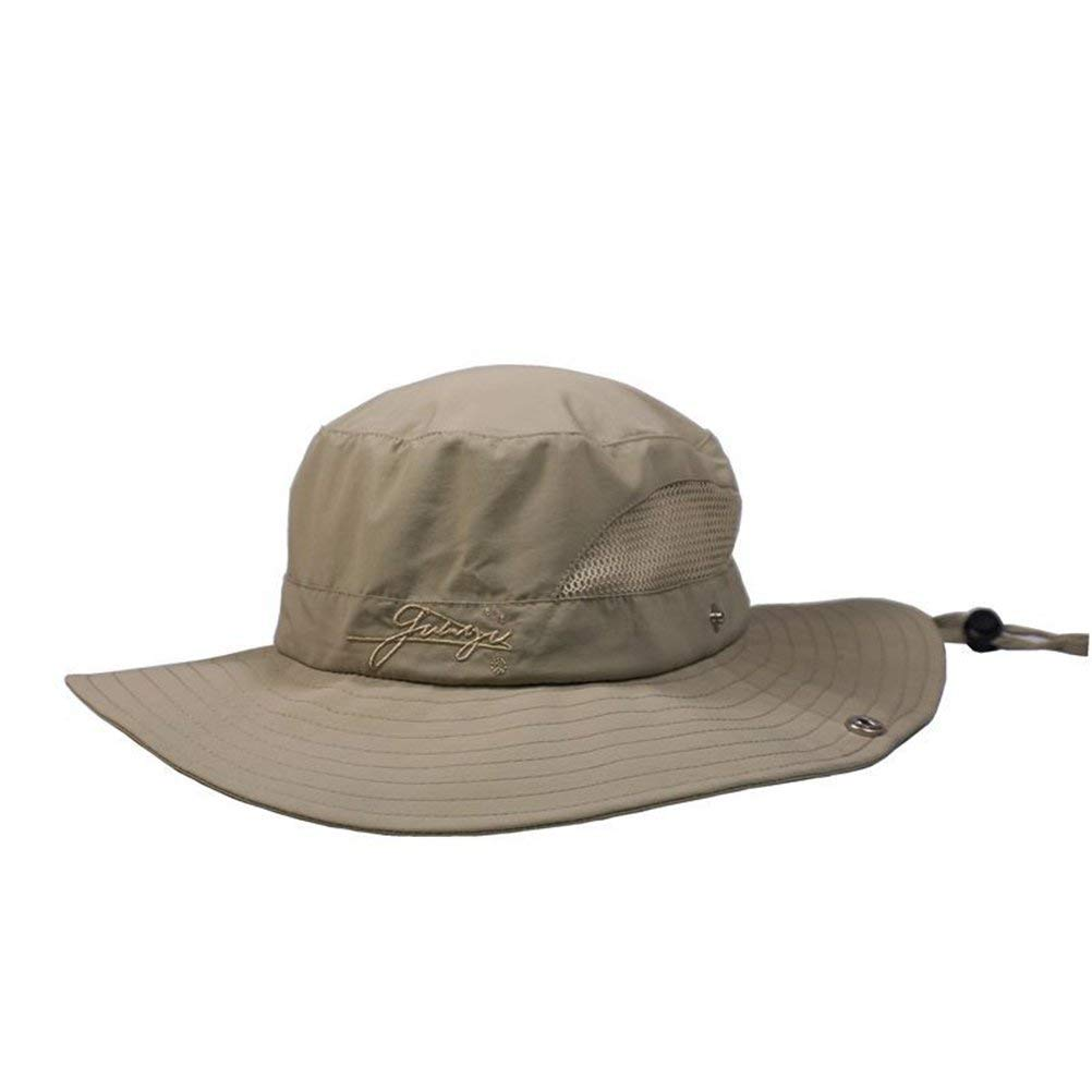 c98f7abef76a0 Get Quotations · VORCOOL Unisex Outdoor Sun Hat Boonie Hat Sun Protection  Fishing Hat Wide Brim Adjustable Quick Dry