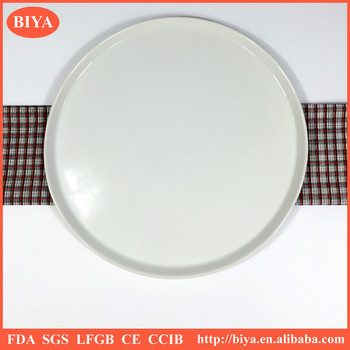 two different big size porcelain round ceramic pizza plates for ovens hotel restaurant and home dinner  sc 1 st  Alibaba & Two Different Big Size Porcelain Round Ceramic Pizza Plates For ...