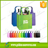 OEM colorful printed promotional gift foldable pp laminated non woven shopping bag with customized logo, pp non woven bag