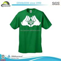 China Top Quality Cartoon Hands Blank Promotional Custom T shirt
