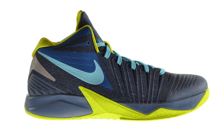 Nike Zoom I Get Buckets Men's Shoes Military Blue/Polarized Blue-Venom  Green 643300