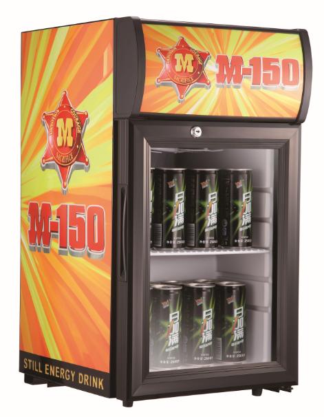 52l Single Door Mini Beer Bottle Display Fridge Refrigerator For