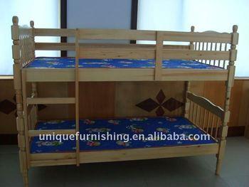 Solid Wood Nursery Furniture Bunk Bed Buy Nursery