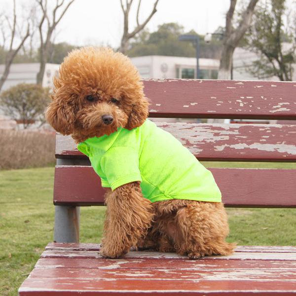 2015 мода животного собачьи одежда собака симпатичные поло прохладный щенок одежда футболки
