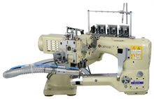6200(4 needle 6 thread) brother three head hair weaving sewing machine