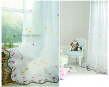 Wholesale Modern Decorative Polyester Sheer Voile Curtain Fabric