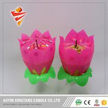 Sáng flameless birthday party cake ma thuật candle