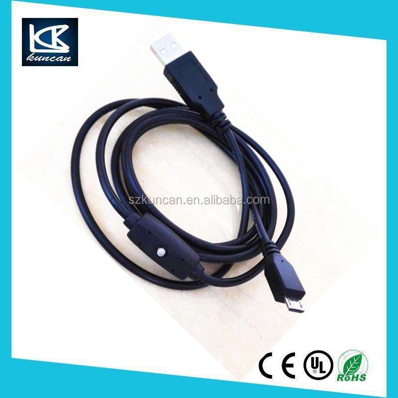 Customize 1.8m Usb Kabel Micro Usb 2.0 28awg/1p 24awg/2c