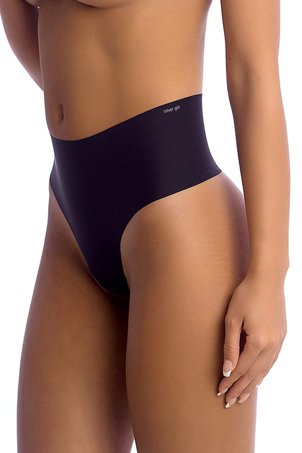 f85899f2a332e Get Quotations · Cover Girl Thong Shapewear Seamless High Waisted Underwear  Breathable Tummy Control Shaping Thong Panties