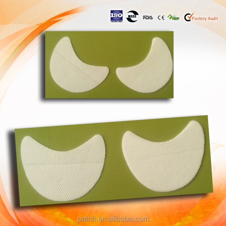 Non-woven Fabric Patch Eye Shadow Pads With Make Up
