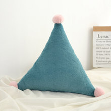 Новорожденный Kawaii игрушка, детская задняя подушка, декор для детской комнаты, подушки для кроватки, настенное украшение, детские товары, под...(Китай)