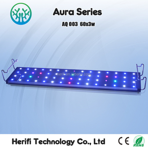 30 inch/48 inch/72 inch led aquarium light Customized Coral Reef Spectrum Dimmable for marine lifes