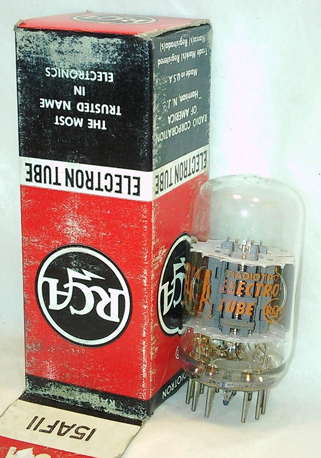 15AF11 RCA Electronic Vacuum Tube New In Box - Vintage Old USA Dealer Stock- NOS NIB Electron AMP Power Valve - Tested & Guaranteed!