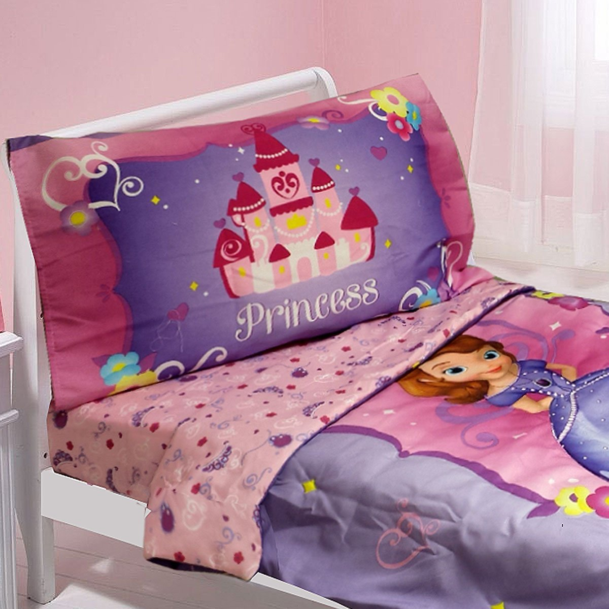 new product f3f25 914de Buy Disney Sofia First Toddler Bedding Set Sweet Princess ...