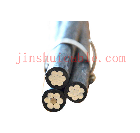China Supplier 0.6/1KV insulated Aerial bundle cable / ABC cable /low voltage abc cable