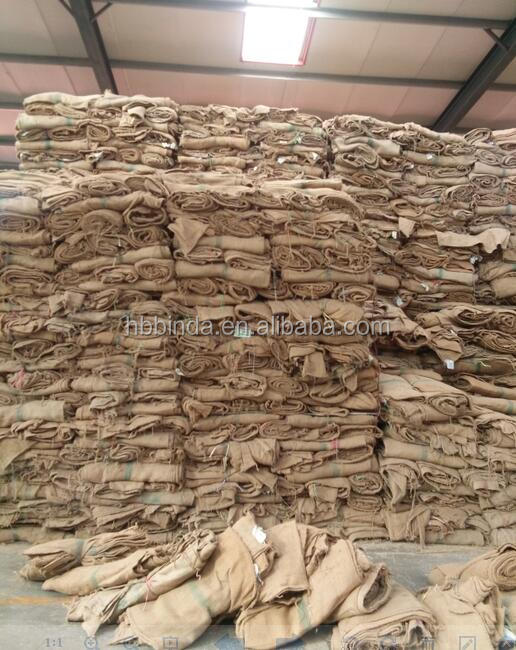 2016 Cheap good quality 100% natural jute or gunny bags wholesaler for cashew nut packing