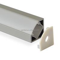 high quality 1m 2m 3m anodized aluminium led profile