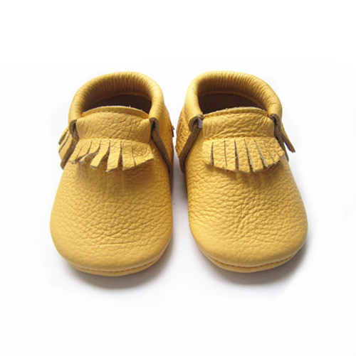 Baby Moccasin Soft Sole Leather Shoes First Walker - Buy Baby ...