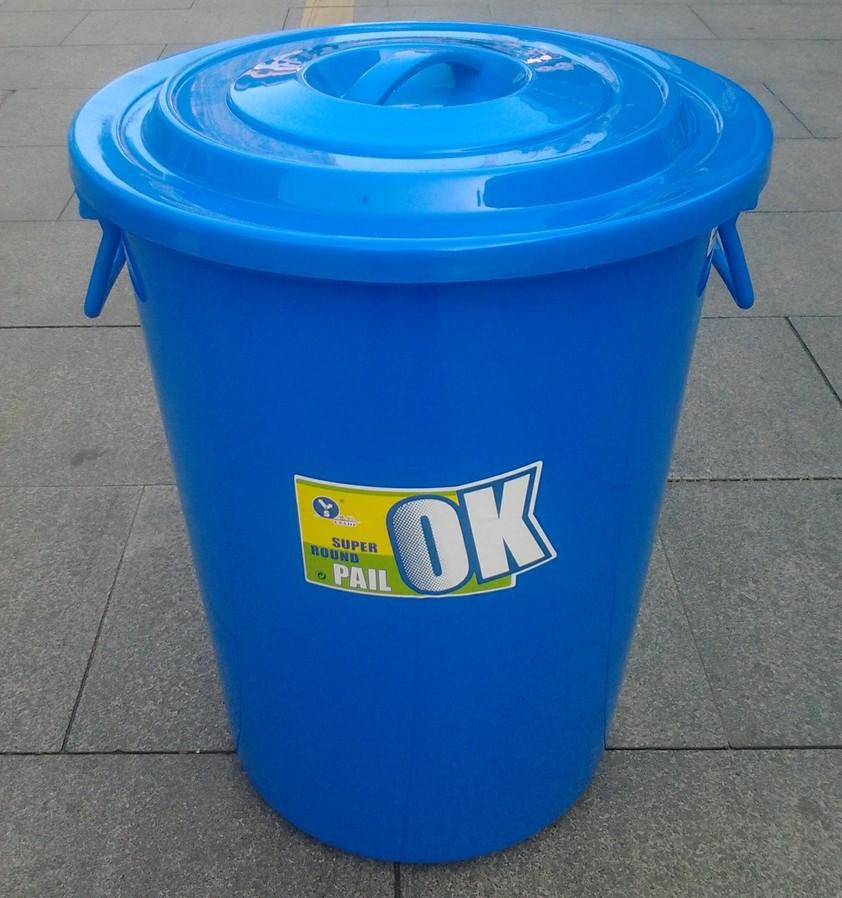 Plastic Bucket Large Water Storage Bucket Garbage Bucket