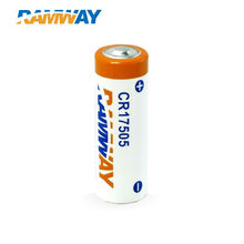 CR14505 <span class=keywords><strong>aa</strong></span> 1500mAh misuratore satellitare batterie
