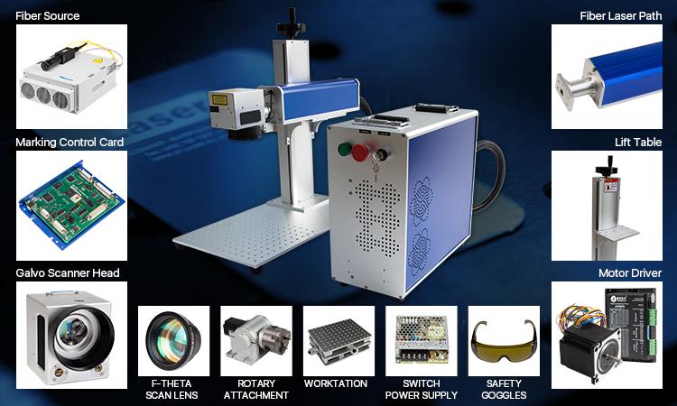 Cloudray Cl421 Fiber Laser Scanning Galvo Head