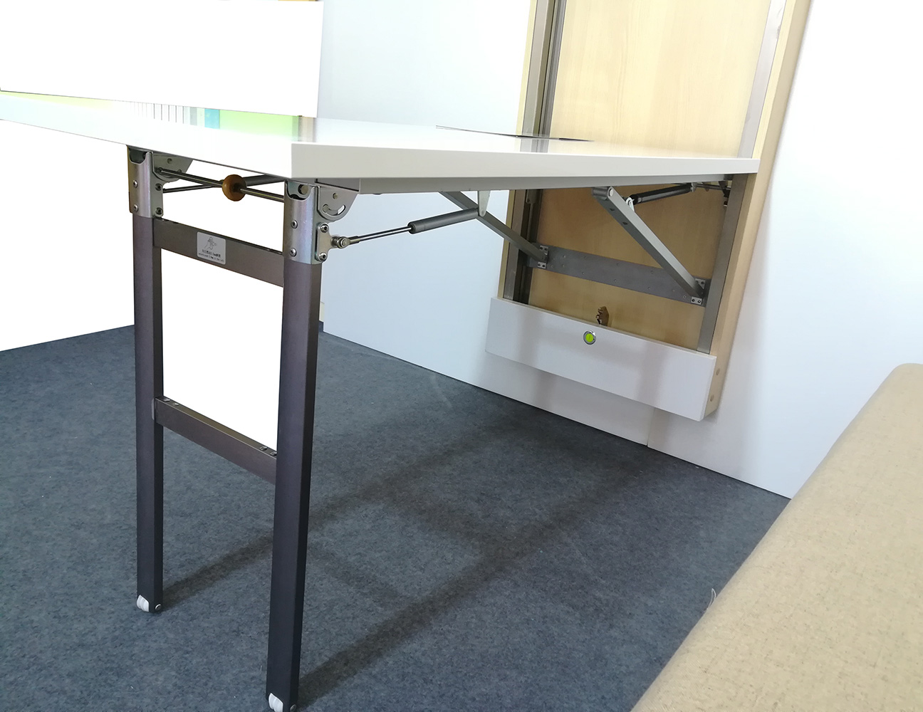 - Fold Down Wall Table Hardware Wall Mounted Folding Table Hardware