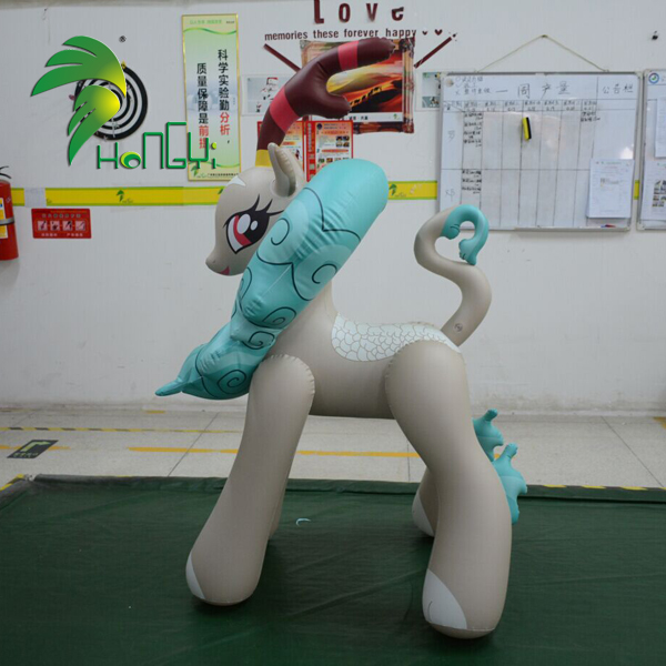Hongyi New Design Giant Inflatable Ride On Horse Toys