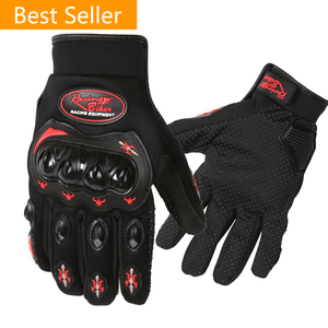 Full Finger Motorcycle Glove Bike Bicycle cycling Breathable Outdoor Sports Protective Gloves