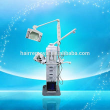 multifunction beauty machine ultrasonic,microdermabrasion,skin scrubber,hot&cool hammer, led