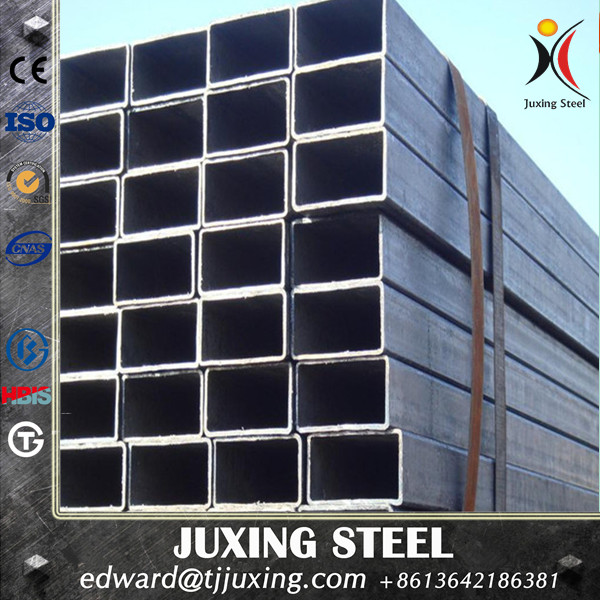 Tianjin SS Group Hot dipped carbon steel galvanized square pipe as to BS1387 and