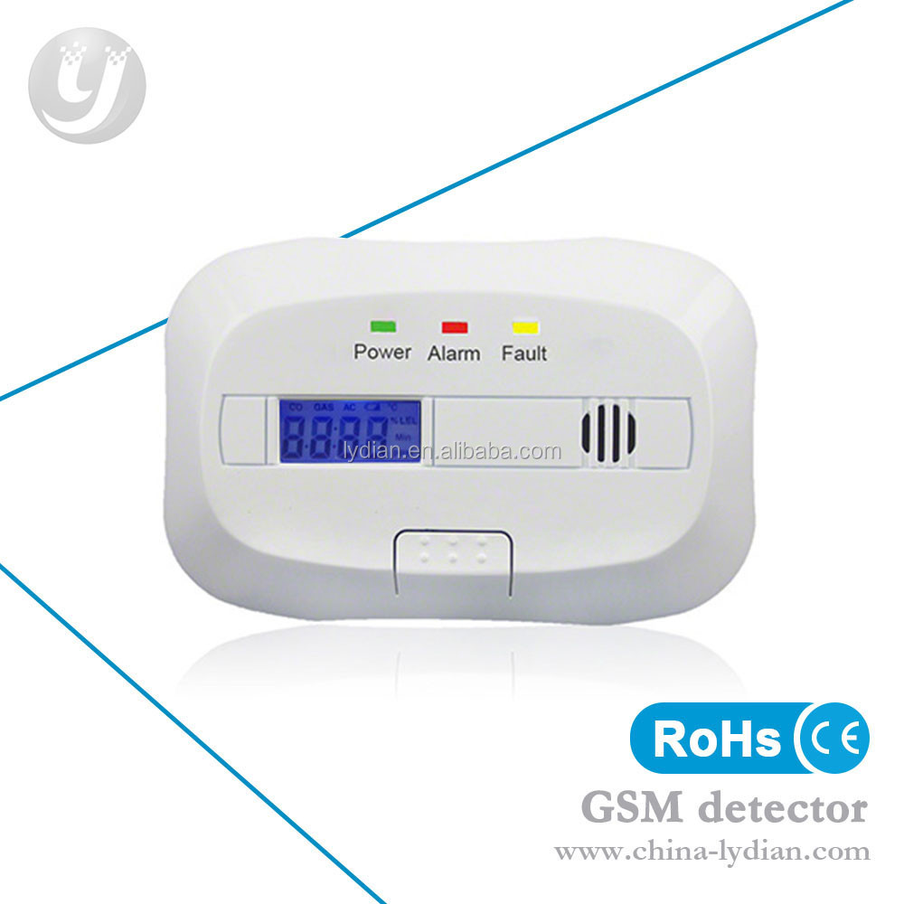 Safely Home Mini Smoke Alarm/ Battery CO Gas Detector