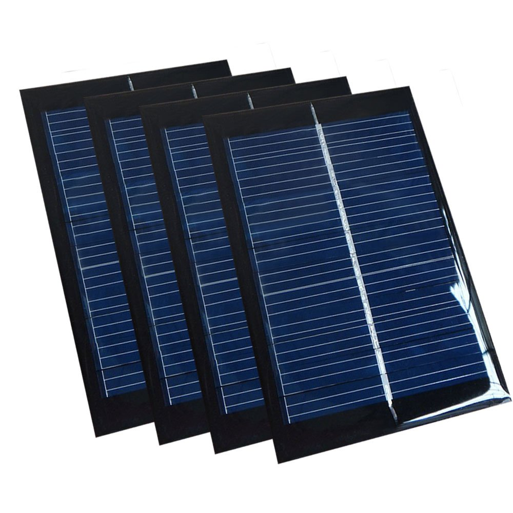 100% Quality Solar Panel 0.5w 5v Portable Module Diy Small Solar Panel For Cellular Phone Charger Home Light Toy Etc Solar Cell Electronic Components & Supplies