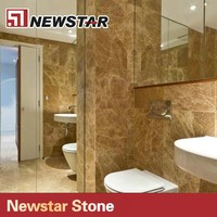 light emperador decorative bathroom polished marble floor tile