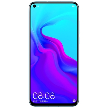 Original Huawei nova 4 6.4 inch 3 rear Camera Mobile Phone Kirin970 Octa Core face ID Android 9.0 fingerprint id