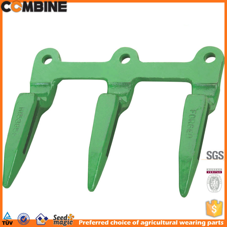 High quality forged header Knife guard for Combine harvester H25603