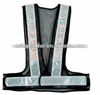 lighting system customized reflective vest safety factory manufacture