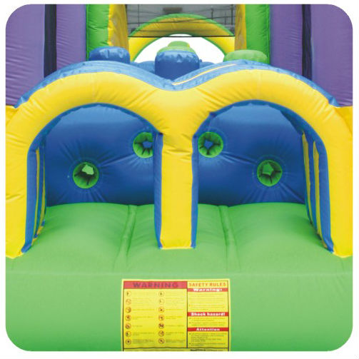 Happy Hop Pro 1030-Obstacle Castle Racer,,high quality commerical use bouncer