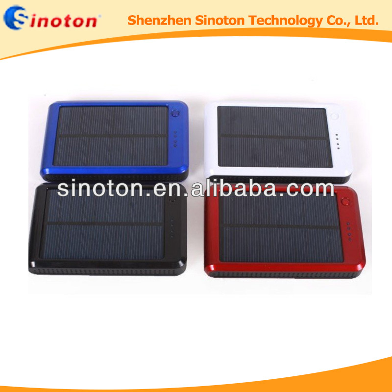 Hot selling 12000mAh Solar Charger, Solar Charger For mobile phones/tablet PC/other <strong>electronics</strong>