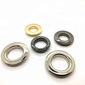 High Quality Custom 20mm Brass Grommets Metal Eyelets For Boots