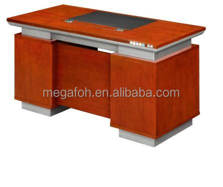 Small mahogany wooden office computer desk supplied for Malaysia (FOHK-1418)