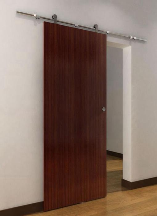 ניס עץ הזזה חומרת דלת אסם עץ עתיק מחיר הטוב ביותר-דלתות-מספר זיהוי HL-64