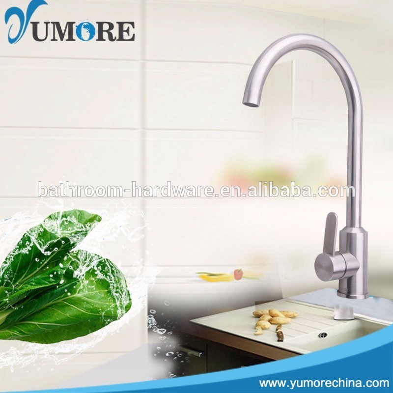 Factory Supply stainless steel kitchen and bathroom taps